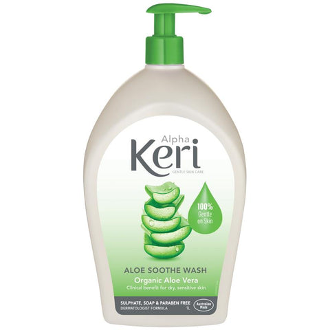 Alpha Keri Aloe Soothe Gentle Wash 1 Litre