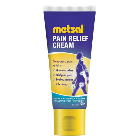 Metsal Pain Relief Cream 50g