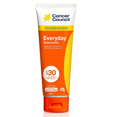 Cancer Council SPF 30 Everyday 250ml Tube