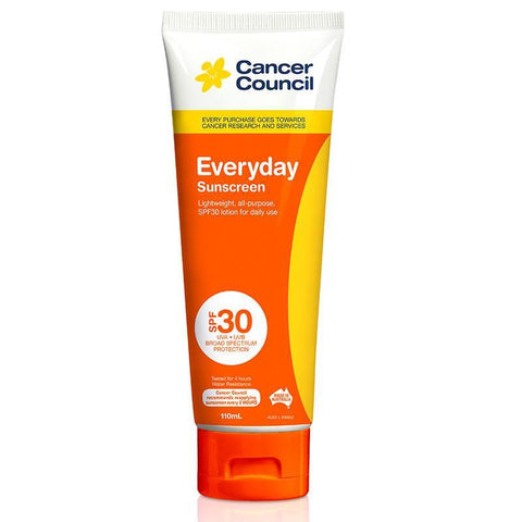 Cancer Council SPF 30 Everyday 110ml Tube