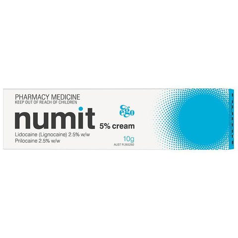 Ego Numit 5% Topical Cream 10g
