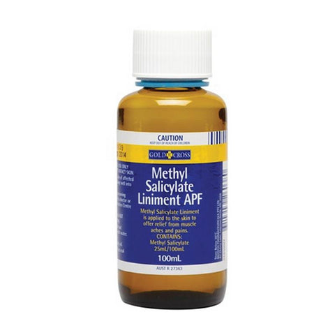 Gold Cross Methyl Salicylate Liniment APF 100 ml