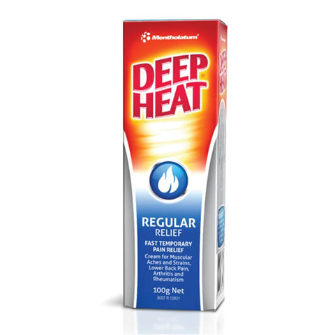 Deep Heat Regular Relief Cream 100g