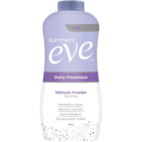 Summer's Eve Daily Freshness Intimate Powder - 198g