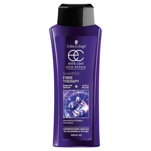 Schwarzkopf Extra Care Fibre Therapy Bond Restore Shampoo - 400mL