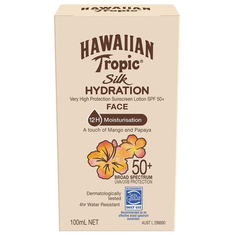 Hawaiian Tropic Silk Hydration Faces 50+ 100ml