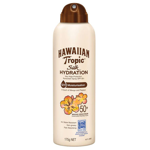 Hawaiian Tropic Silk Hydration Spray 50+ 175g