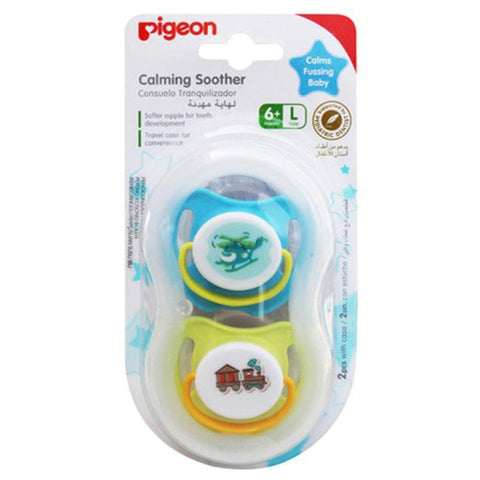 Pigeon Calming Soother Large Twin Pack