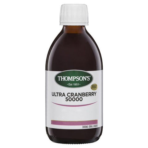 Thompsons Ultra Cranberry Liquid 50000mg 300ml
