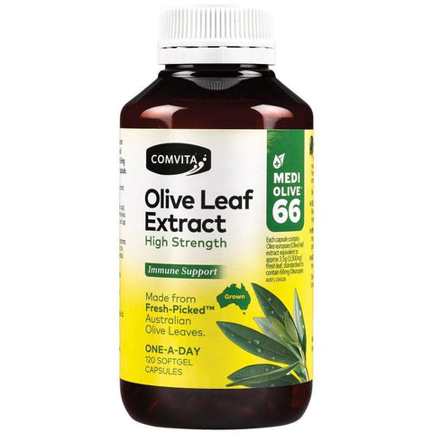 Comvita Olive Leaf High Strength Capsules 120 Capsules