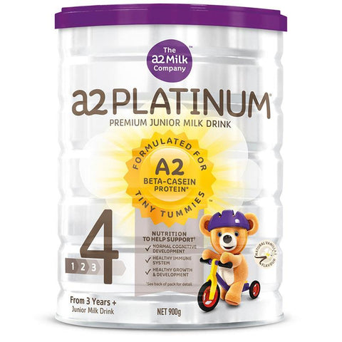 A2 Platinum Premium Premium Junior Milk Drink Stage 4 900g (FREE POSTAGE DOESN'T APPLY)