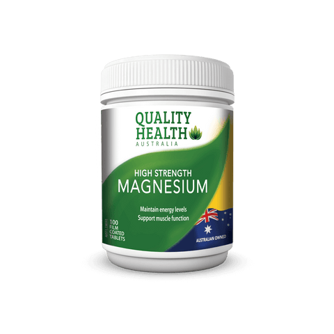 Quality Health High Strength Magnesium 500mg 100s