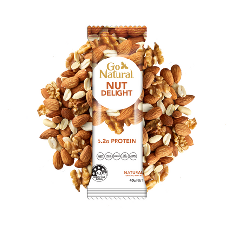 Go Natural Nut Delight Bar 40g