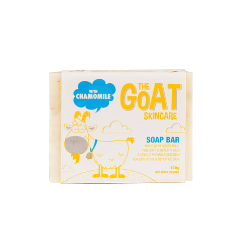 The Goat Skincare Soap Bar with Chamomile - 100g Carton 12