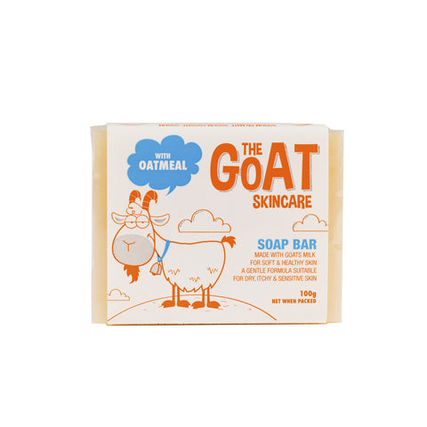 The Goat Skincare Soap Bar with Oatmeal - 100g Catron 12