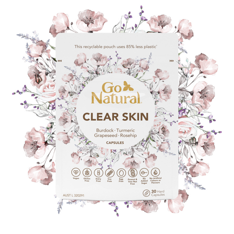 Go Natural CLEAR SKIN  30 CAPSULES