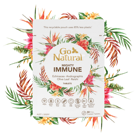Go Natural Mighty Immune 30 Tabs   (OUT OF STOCK)