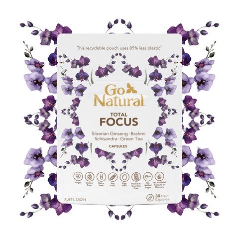 Go Natural TOTAL FOCUS 30 CAPSULES