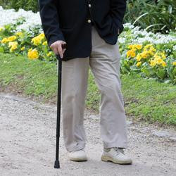 Walking Cane - T Shape Handle (Black)