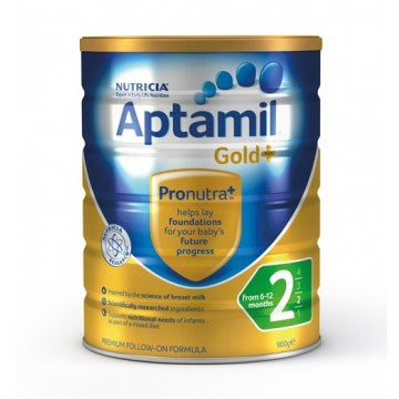 Aptamil Gold Plus 2 Follow-On Formula (6 Months+) 900g (OUT OF STOCK)