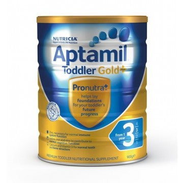 Aptamil Gold Plus 3 Toddler Formula (1 Year+) 900g (OUT OF STOCK)