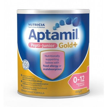 Aptamil Gold Plus Pepti Junior Infant Formula (0-12 Months) 450g