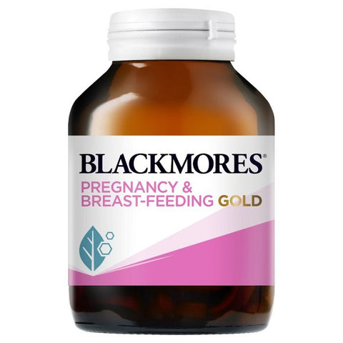 Blackmores Pregnancy & Breast-Feeding Gold 120 Capsules