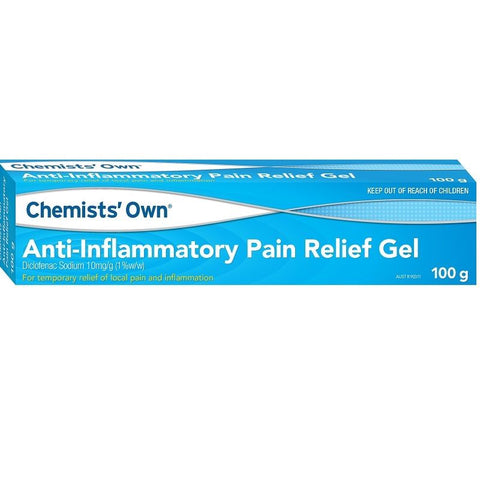 Chemists' Own Diclofenac Anti-Inflammatory Gel 100g (Generic for VOLTAREN)