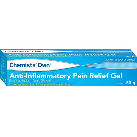 Chemists' Own Diclofenac Anti-Inflammatory Gel 50g (Generic for VOLTAREN)