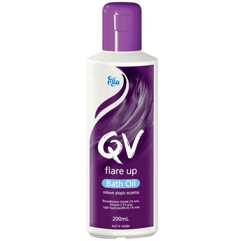 Ego QV Flare Up Bath Oil 200ml for Eczema Prone Skin