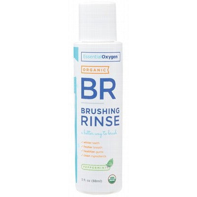 ESSENTIAL OXYGEN P/mint Brushing Rinse 88ml