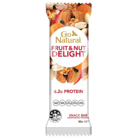 Go Natural Yoghurt Fruit & Nut Bar 50g