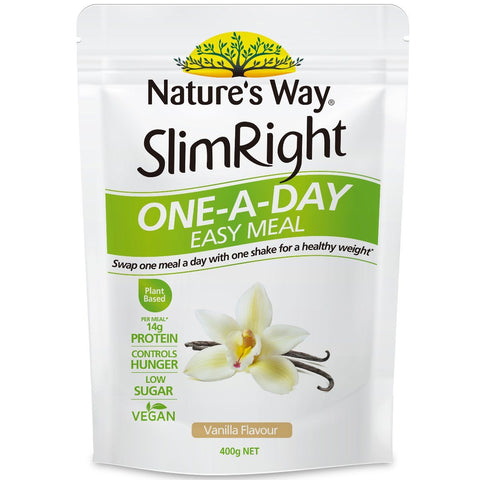 Nature's Way Slim Right One-A-Day Easy Meal Vanilla 400g