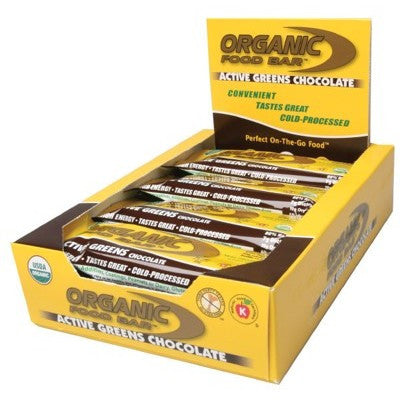 Active Greens Chocolate Bar 12x68g