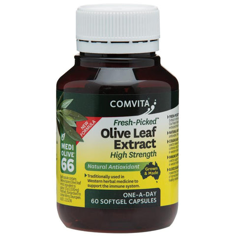 Comvita Olive Leaf Extract High Strength Cap X 60