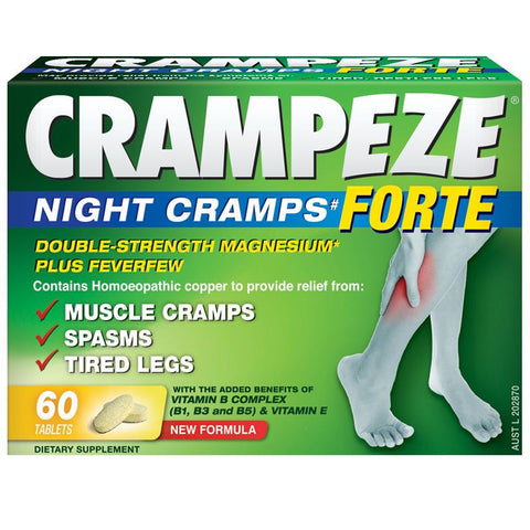 Crampeze Forte Night Cramps Tab X 60