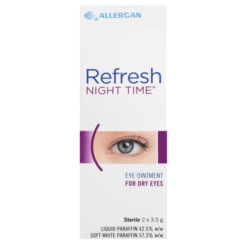 Refresh Night Time Eye Ointment 2 X 3.5g (OUT OF STOCK)