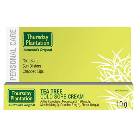 Thursday Plantation Tea Tree Cold Sore Cream 10g