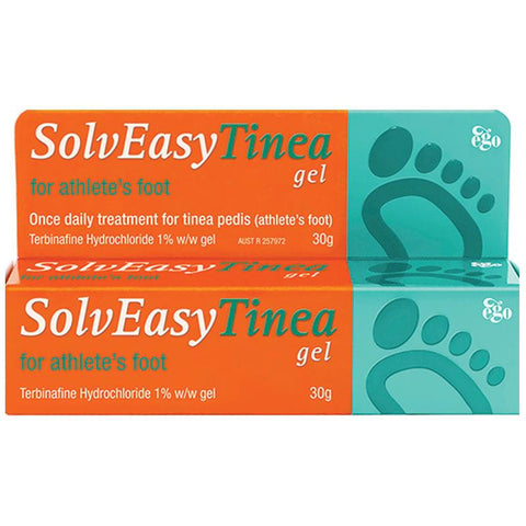 Ego Solveasy Tinea Gel For Athlete's Foot 30g