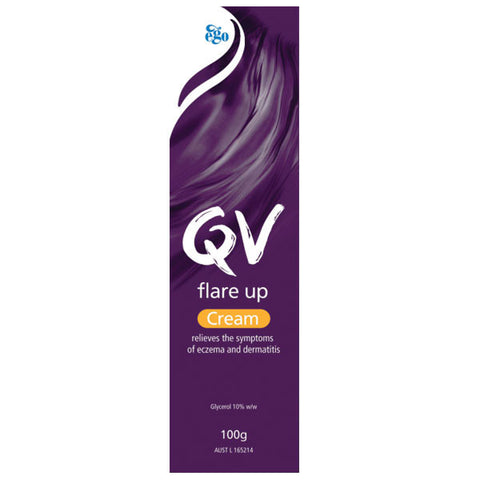 Ego QV Flare Up Cream 100g for Eczema Prone Skin