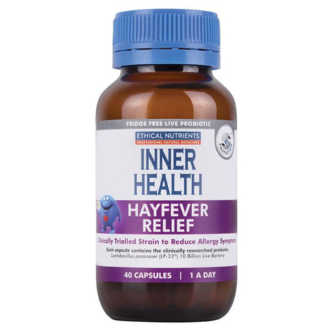 Ethical Nutrients Inner Health Hayfever Relief Cap X 40