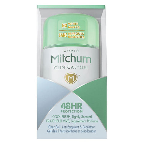 Mitchum for Women Clinical Deodorant Cool Fresh Gel 57g