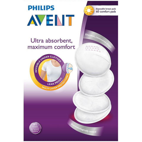 Avent Disposable Breast Pad Day - 60 Pack