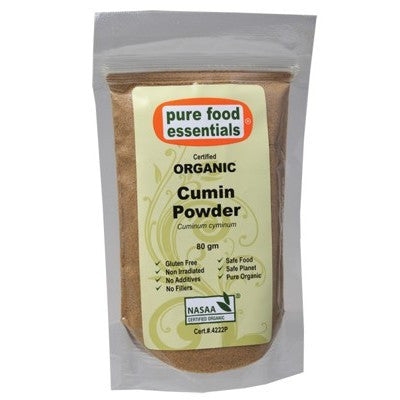 PURE FOOD ESSENTIALS Cumin Powder 80g