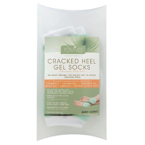 Revive Cracked Heel Gel Socks