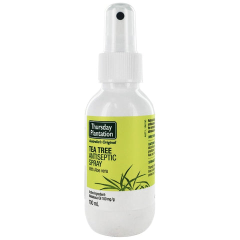 Thursday Plantation Tea Tree Antiseptic Spray with Aloe Vera 100ml