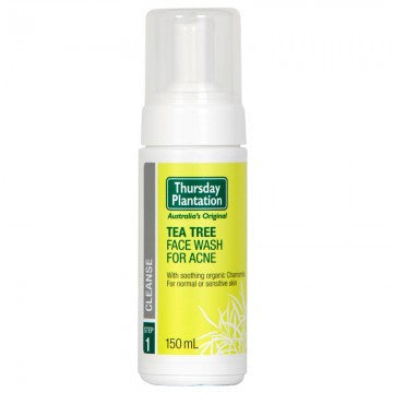 Thursday Plantation Tea Tree Daily Face Wash For Acne 150ml