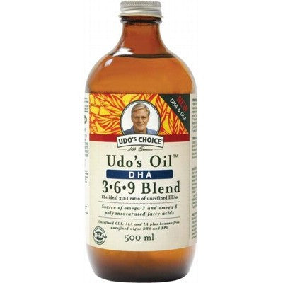 UDO'S CHOICE DHA Oil Blend 500ml