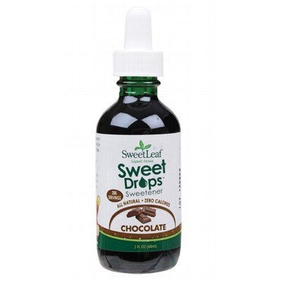 SWEET LEAF Chocolate Liquid Stevia 60ml