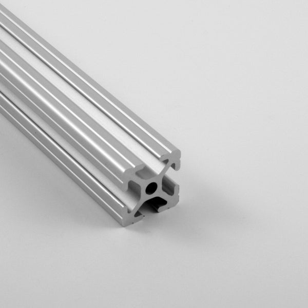 "1.0"" x 1.0"" Grooved T-Slotted Aluminum Extrusion"